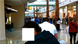 Waiting In Line For The IPad 2
