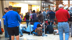 Getting Closer: IPad 2 Release Day At The Millennium Mall In Orlando Florida
