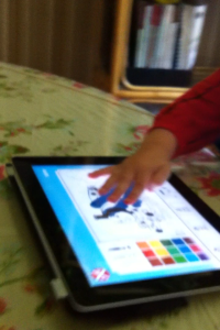Coloring On The IPad 2: Thomas The Engine App