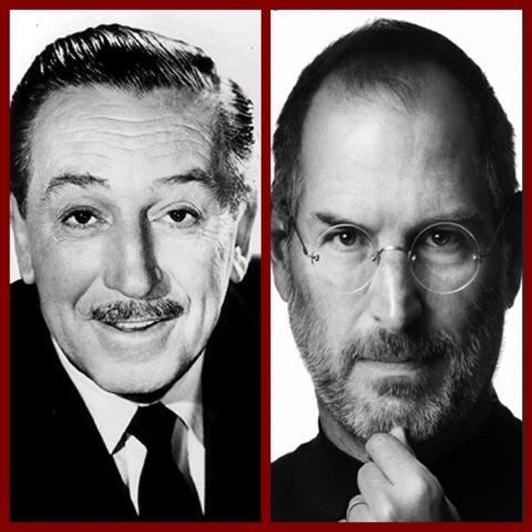 Steve Jobs and Walt Disney: Like Two Peas In An IPod