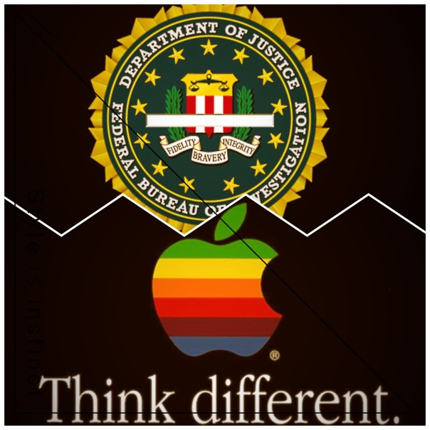 Apple, FBI, Think Different