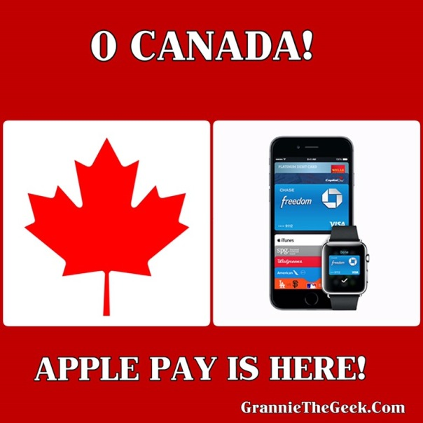 Apple Pay, Canada